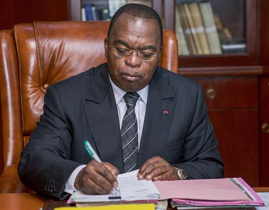 Ministre des Finances MOTAZE